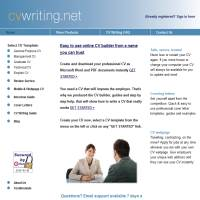 Top cv writing services uk